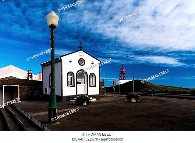 Farol de Santa Clara, Ponta Delgada, Azores, Portugal