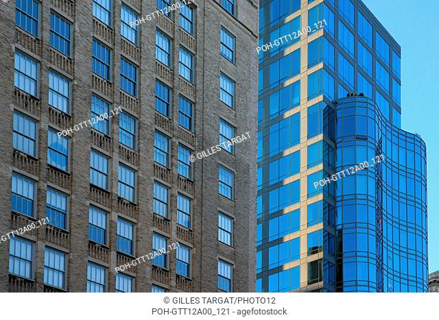 usa, etat de New York, New York City, Manhattan, Chelsea, buildings, rue, depuis la 4th avenue, Photo Gilles Targat
