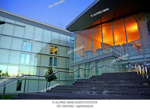 Miguel Delibes Cultural Center, Valladolid, Spain