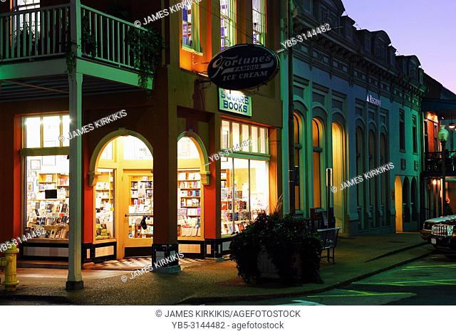 Square Books, downtown Oxford Mississippi