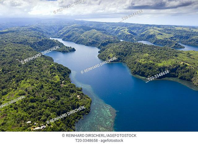 Fjords of Cape Nelson, Tufi, Oro Province, Papua New Guinea