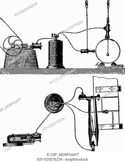 Engraving Compressed Air Stock Photos And Images