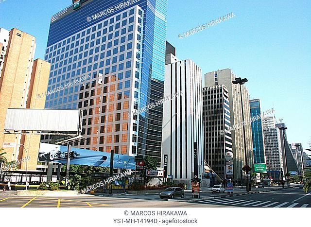 Building BR Petrobras, Buildings Avenue Paulista, São Paulo, Brazil