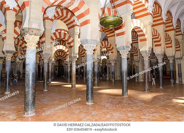 Famous Cordoba mosque in Cordoba, Andalusia, Spain
