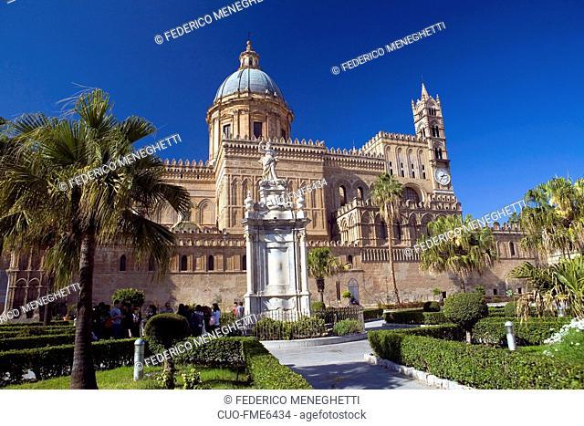 Cathedral, Palermo, Sicilia, Italia, Europa