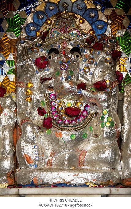 Ganesah shrine Udaipur, Rajastan, India