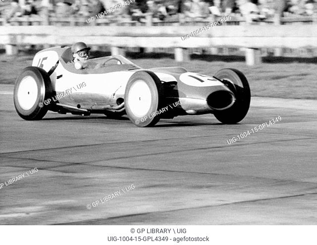 David Piper in his Lotus