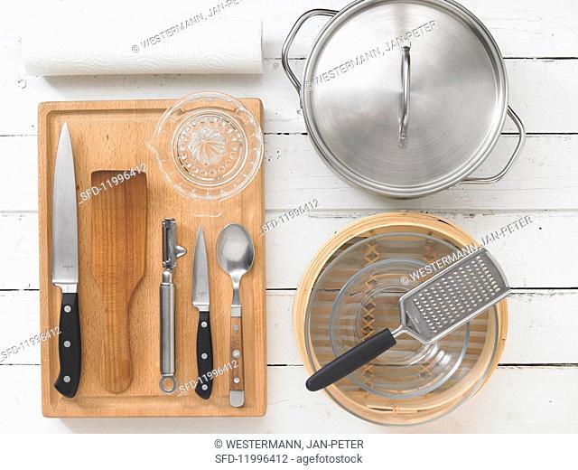 Utensils for steamed fish