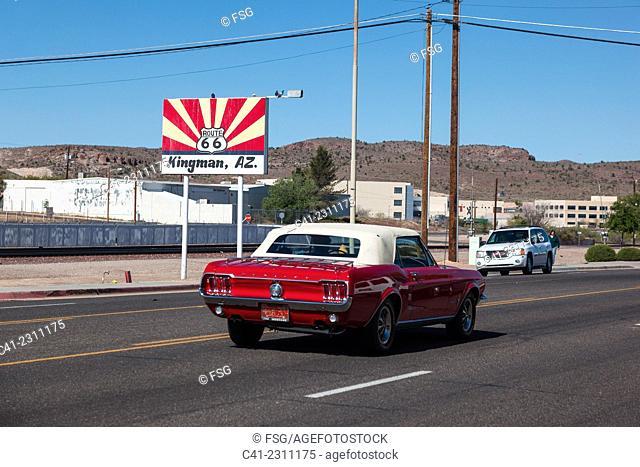 Kingman, Arizona. USA