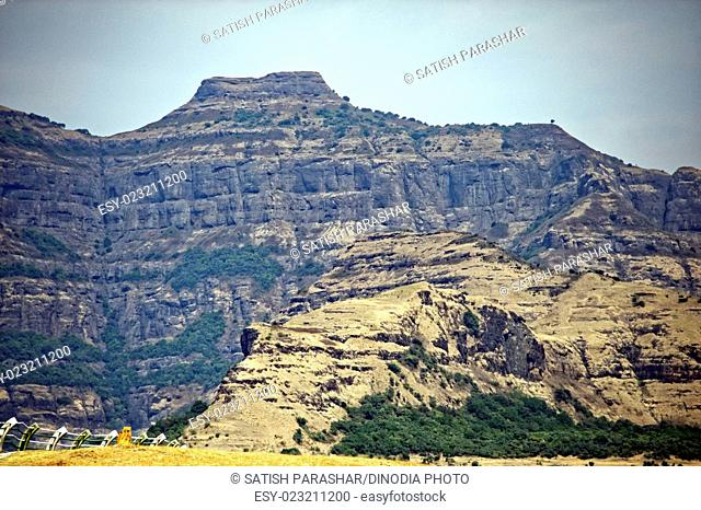 mountains at malshej ghat, maharashtra, India, Asia