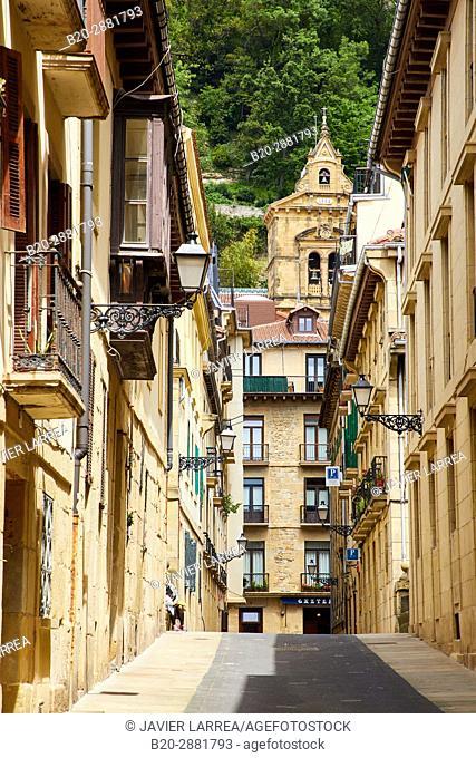 Parte Vieja, Old Town, Donostia, San Sebastian, Gipuzkoa, Basque Country, Spain