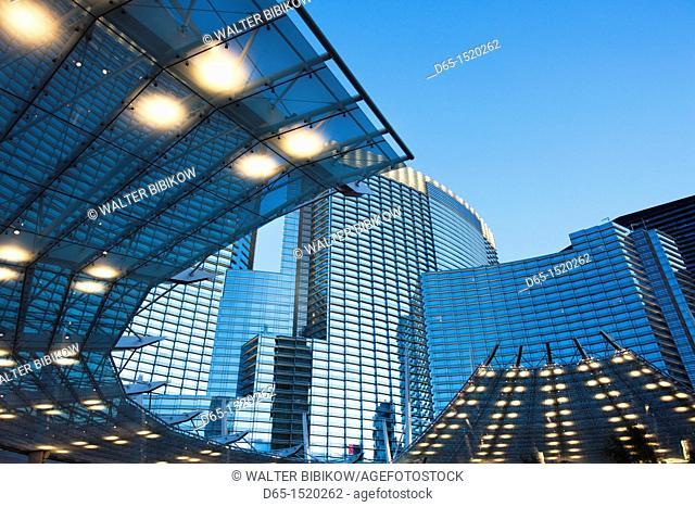 USA, Nevada, Las Vegas, CityCenter, dawn