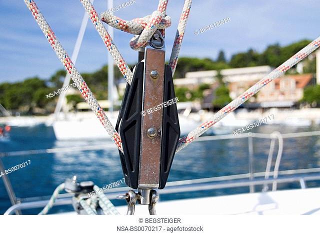 sailboat in detail