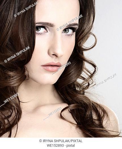 Face of a beautiful girl