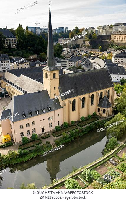 Neumünster Abbey, Luxembourg City, Luxembourg