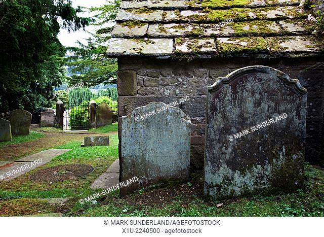 Old St Marys Churchyard Pateley Bridge North Yorkshire England
