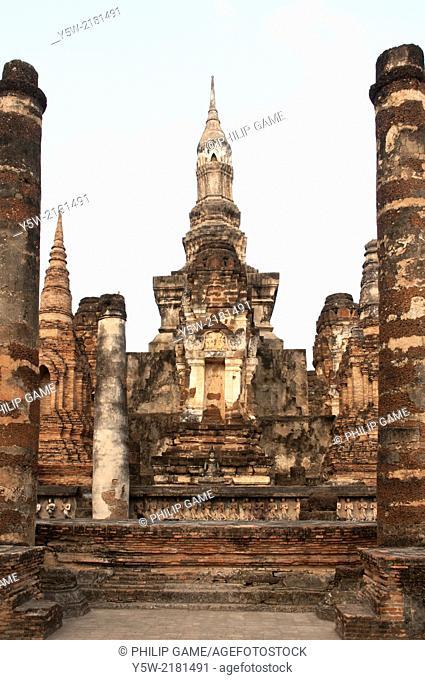 Wat Mahathat, Sukhothai Historical Park, Thailand