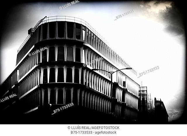 Edificio de oficinas en Bank, City of London, Englad, UK, Office building in Bank, City of London, Englad, UK