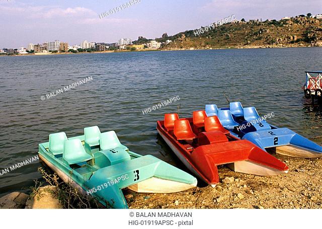 DURUGAM CHERUVU LAKE, HYDERABAD, ANDHRA PRADESH, INDIA