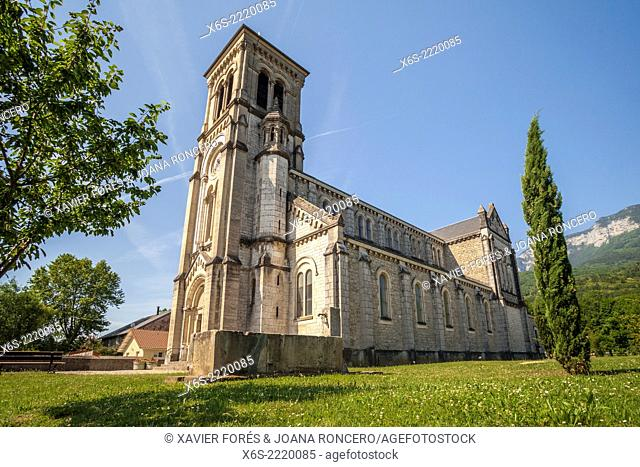 Church of Chapareillan, Isere, Rhône-Alpes. France