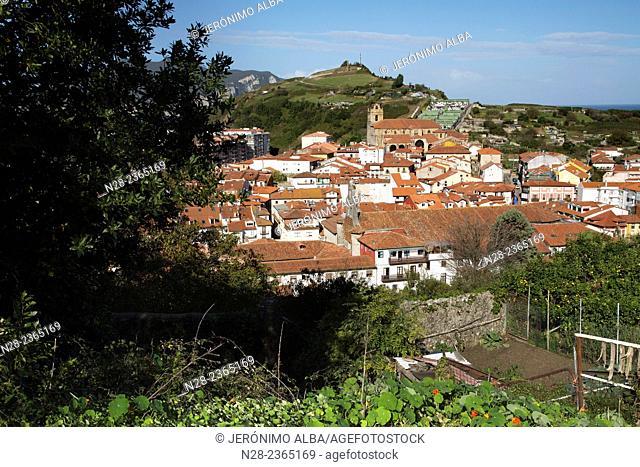 Laredo fishing village Cantabria Spain