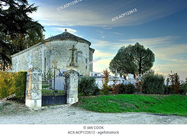 Saint-Macaire Church, Lot-et-Garonne Department, Aquitaine, France