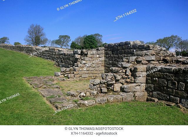 Black Carts turret 29a, Hadrian's Wall, Northumberland, England