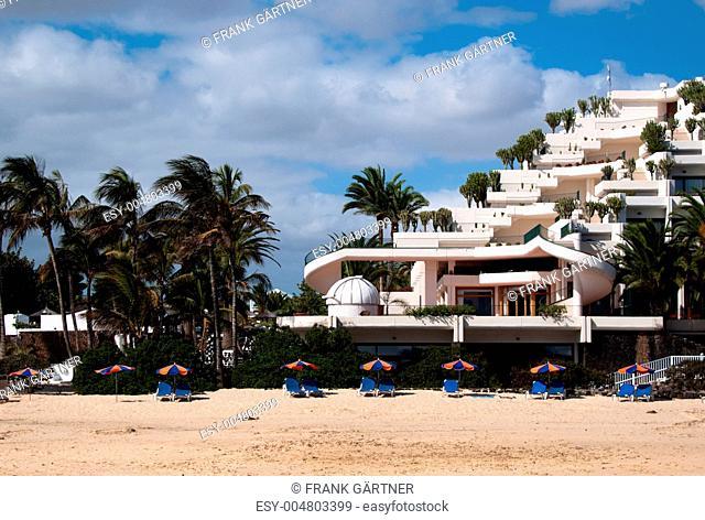 Hotel on the beach
