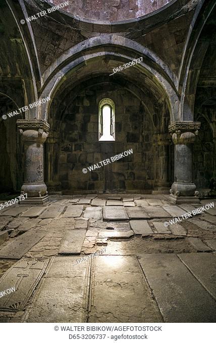 Armenia, Debed Canyon, Sanahin, Sanahin Monastery, 10th century, interior