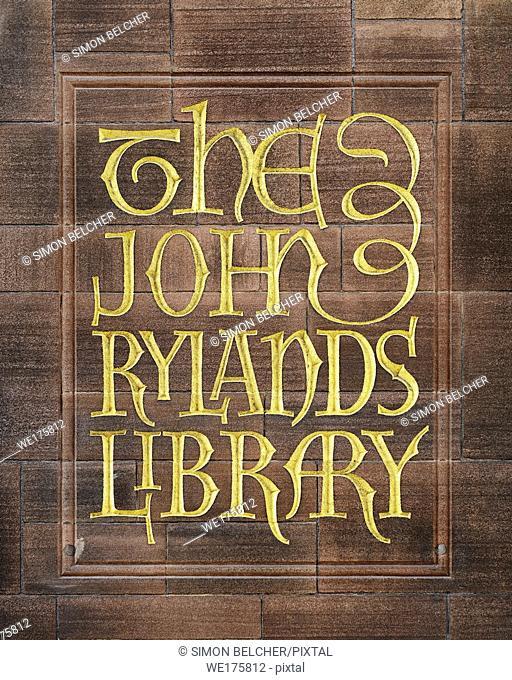 The John Rylands Library, Manchester, England, United Kingdom