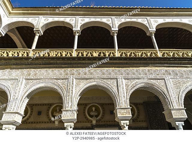 Pilate's House in Seville, Spain