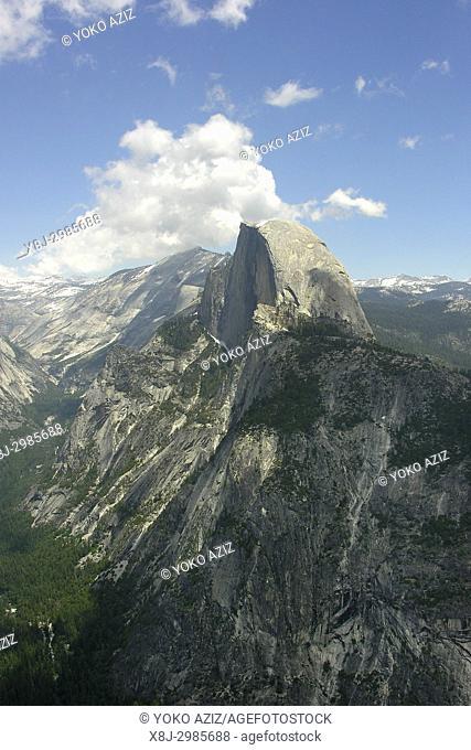 half dome, Yosemite national park, california, United States of America
