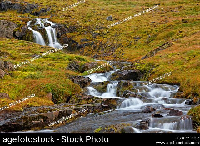 Waterfall, South Coast, Iceland