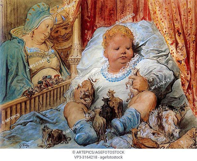 Doré Gustave - L 'enfance De Pantagruel