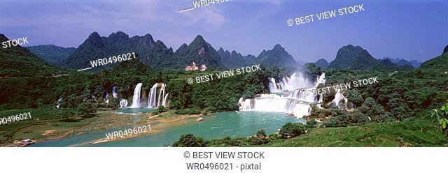 Guangxi Detian waterfall