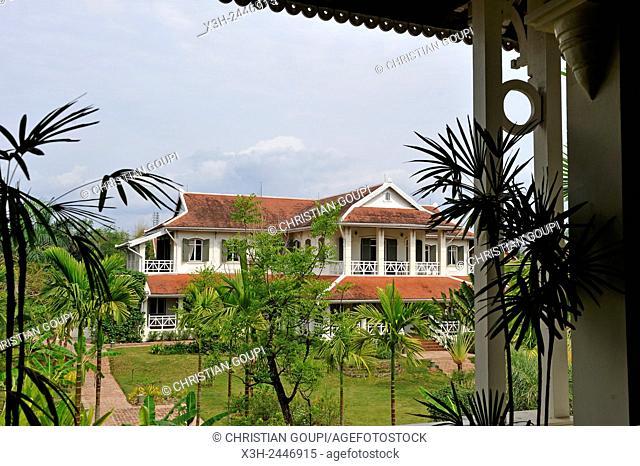 pavilion of Luang Say Residence Hotel, Luang Prabang, Laos, Southeast Asia