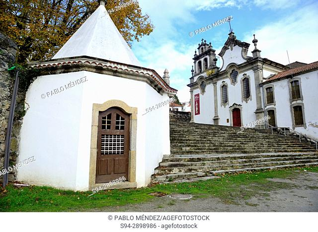 Chapel, church and monastery of 3rd Order of San Francisco in Vinhais, Vila Real, Portugal