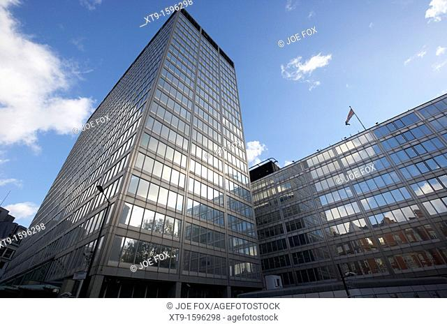 new scotland yard metropolitan police headquarters london england uk united kingdom