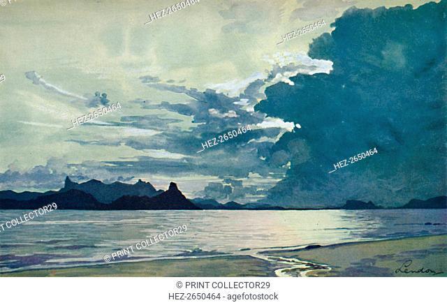 'The Bay of Guanabara', 1914. Artist: Unknown