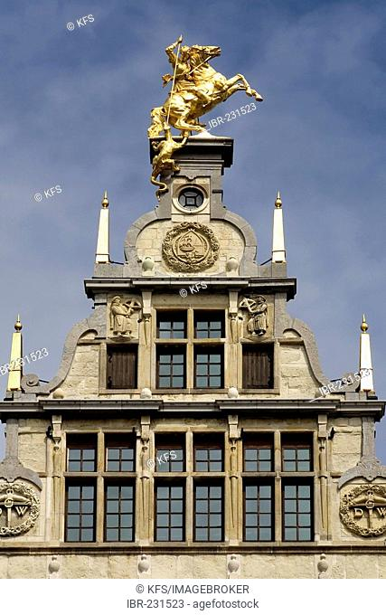 Former guild house of the shooters, Grote Markt, Antwerp, Belgium