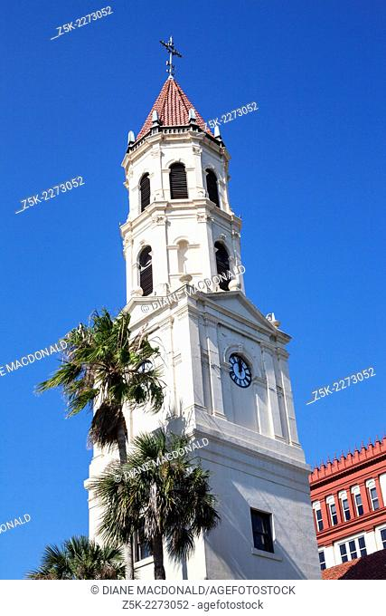 The Cathedral Basilica of St. Augustine, St. John's County, Florida, USA