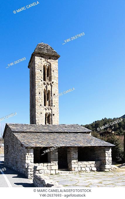 Church of Sant Miquel d'Engolasters, Andorra