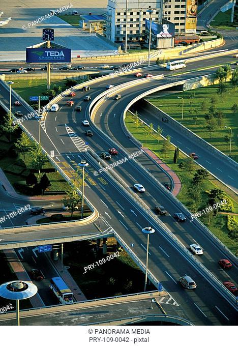 the highway in Beijing city