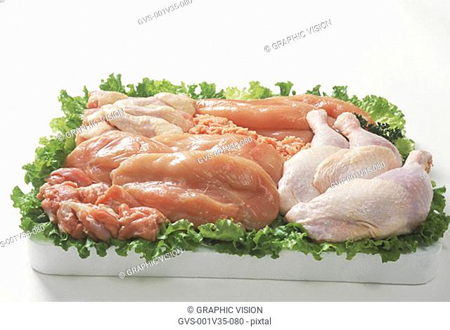 Assorted Cuts of Chicken