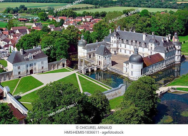 France, Yonne, Chateau de Tanlay