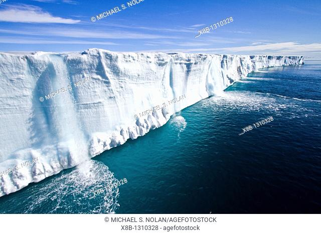 Views of Austfonna, an ice cap located on Nordaustlandet in the Svalbard archipelago in Norway  MORE INFO Austfonna is the largest ice cap by area and with 1
