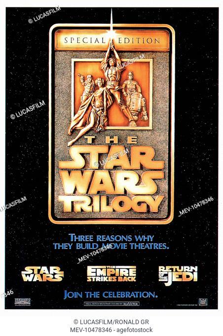 STAR WARS TRILOGY: STAR WARS: EPISODE IV - A NEW HOPE STAR WARS: EPISODE V - THE EMPIRE STRIKES BACK STAR WARS: EPISODE VI - RETURN OF THE JEDI [US 1983]