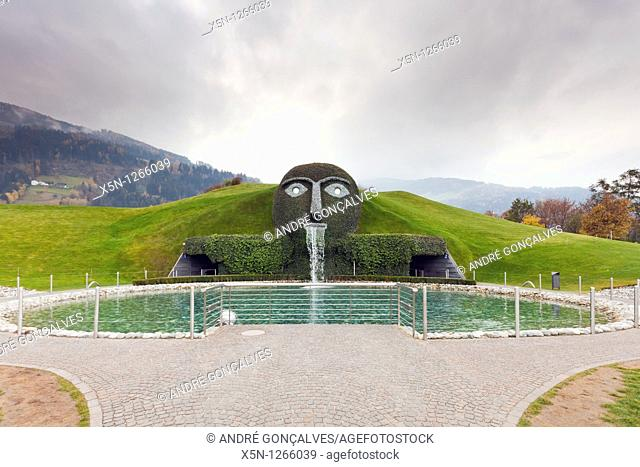 Entrance of Swarovski Museum in Innsbruck, Austria