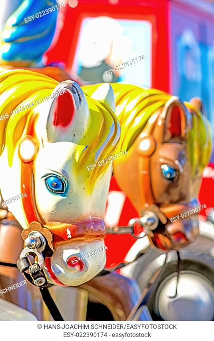horses of a carousel