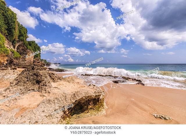 Tegal Wangi Beach, Jimbaran, Bali, Indonesia, Asia